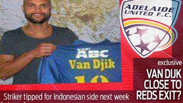 Van Dijk tipped for imminent Adelaide exit