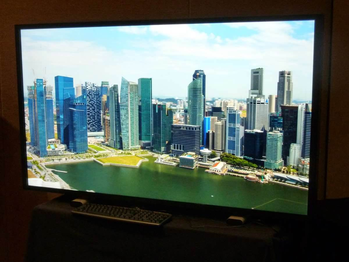 Ultra-D 3D display serves up glasses-free 2160p images