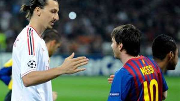 Ibrahimovic denies insulting Messi, Ronaldo