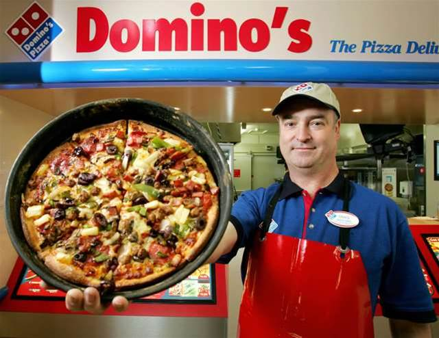 Domino's driver-tracking tech boosts Q1 sales