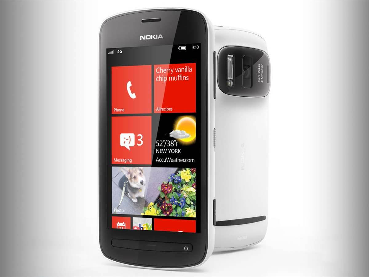 Nokia EOS PureView Windows Phone incoming