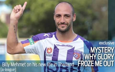 Mehmet: Mystery why Glory froze me out
