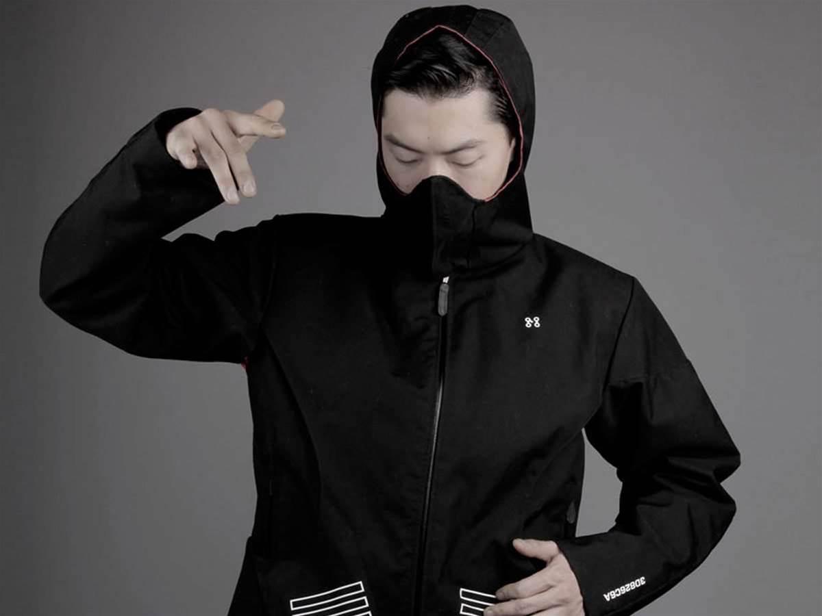 Machina MIDI coat makes music and keeps you dry