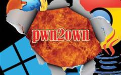Chrome; Firefox; IE 10; Java; Win 8 fall at #pwn2own hackfest