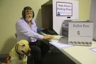 WA trials voting app for blind and vision impaired