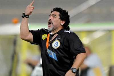 Nicollin rules out Maradona appointment