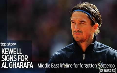 Middle East lifeline for Harry Kewell