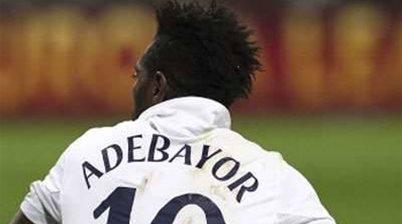 Adebayor is the man, says Villas-Boas