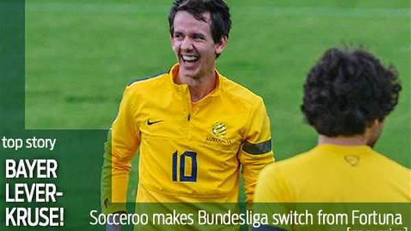 Bayer Lever-Kruse! Robbie's German switch