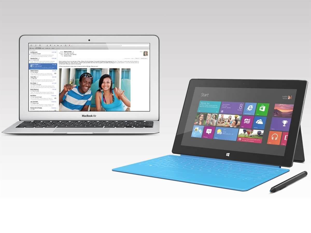 Microsoft Surface Pro vs Apple MacBook Air 11in
