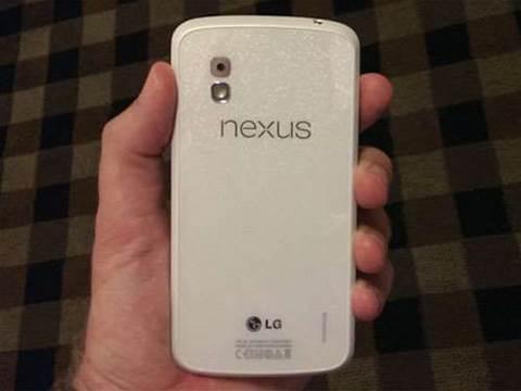 White Google Nexus 4 coming soon?