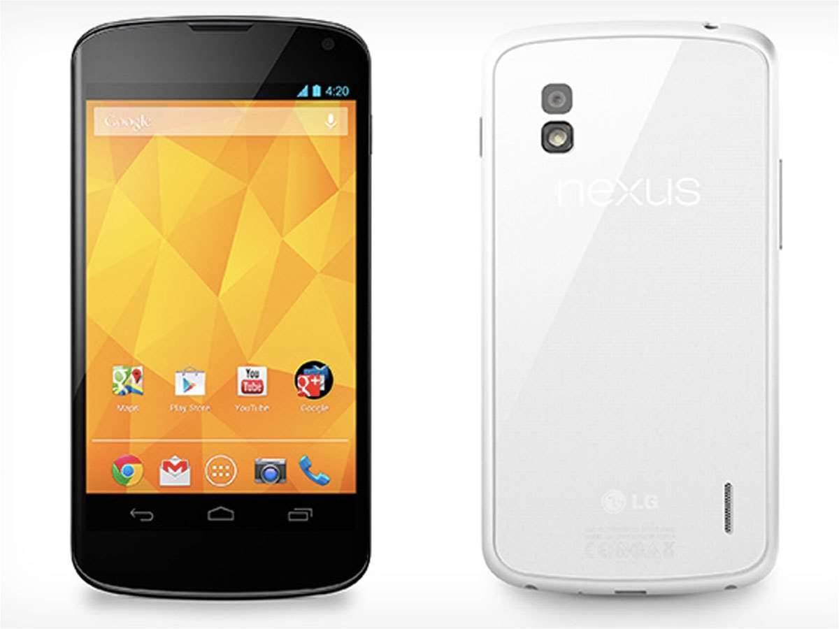 White Google Nexus 4 officially announced