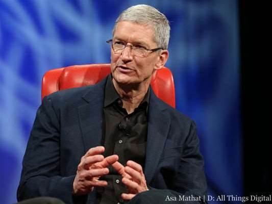 Tim Cook speaks about iOS 7 and Apple apps on Android