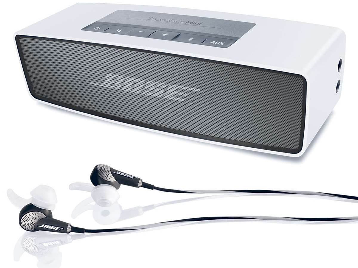 Bose SoundLink Mini speaker and noise cancelling QC20 earphones unveiled