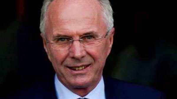 Eriksson takes over at Guangzhou R and F
