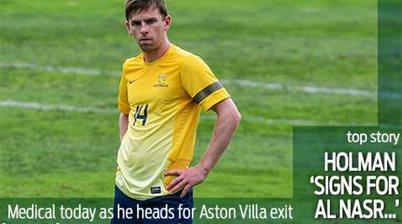 Holman 'signs for Al Nasr'
