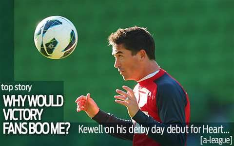 Kewell: Why would Victory fans boo me?