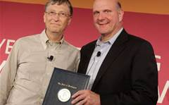 Steve Ballmer's career at Microsoft
