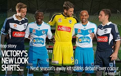 Melbourne Victory unveil new strips
