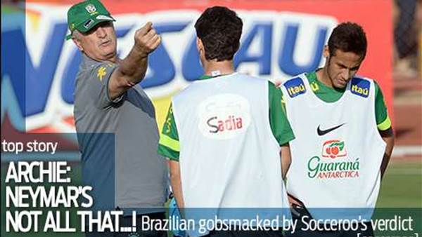 Archie: Neymar's not all that...
