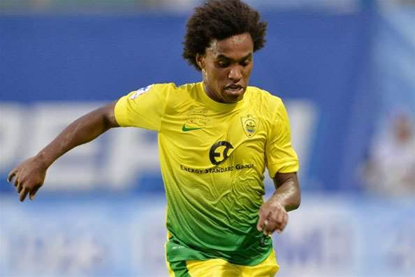 Willian only wanted Chelsea move