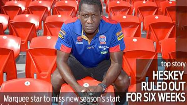 Emile Heskey ruled out for six weeks