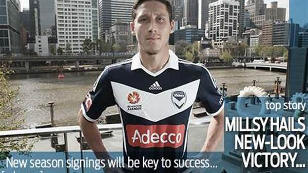 Victory signings excite Milligan