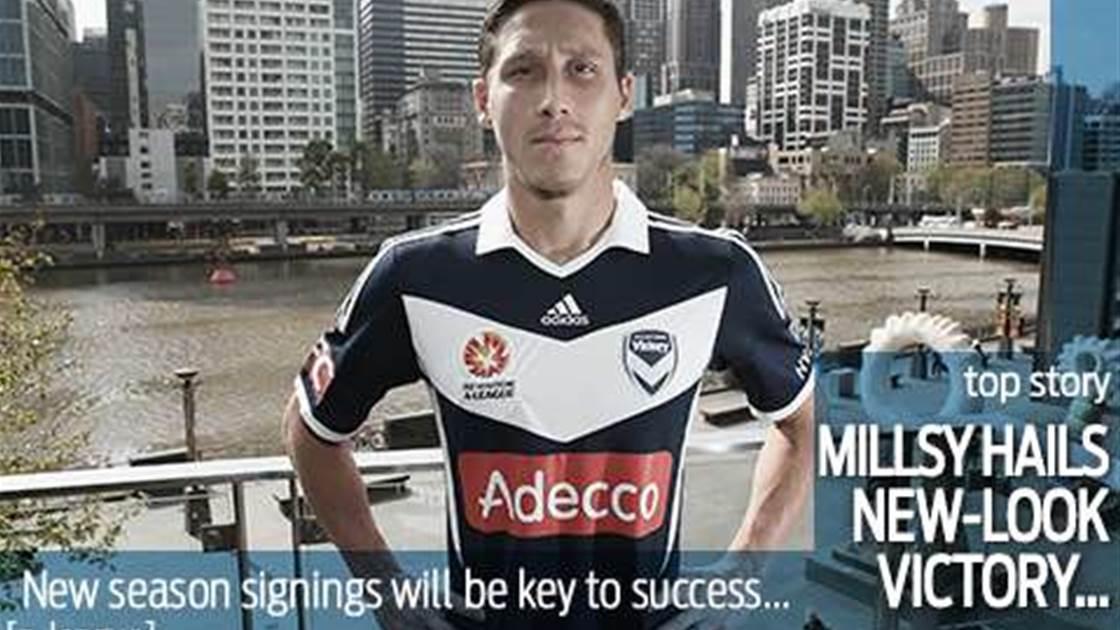 Victory signings excite Milligan
