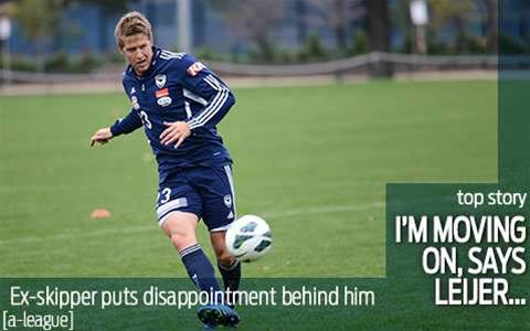 Leijer moving on from captaincy disappointment