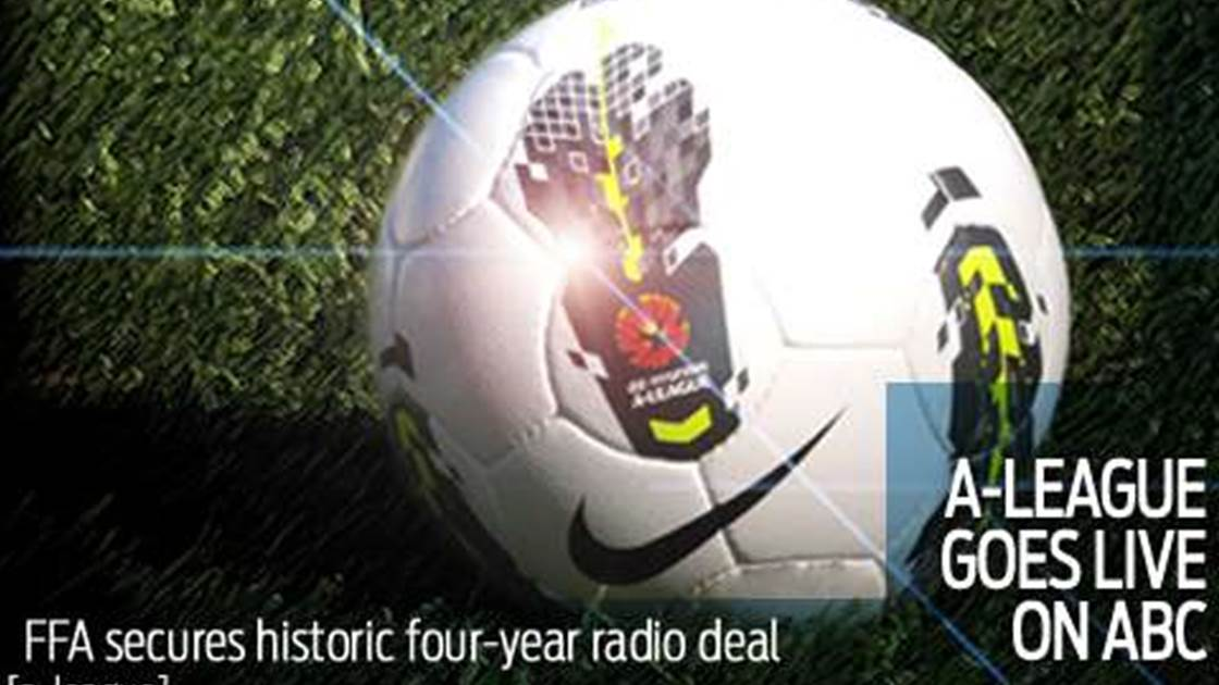 Every A-League game live in ABC Radio deal