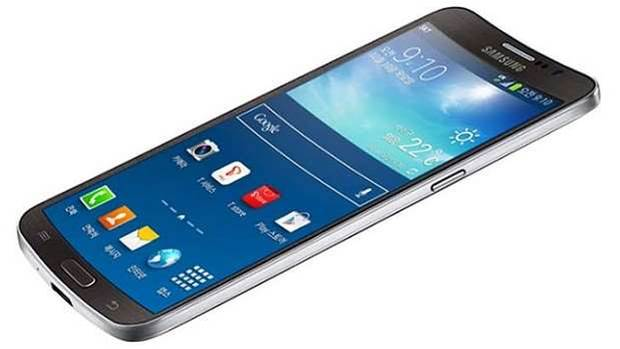 Samsung launches world's first curved-screen smartphone
