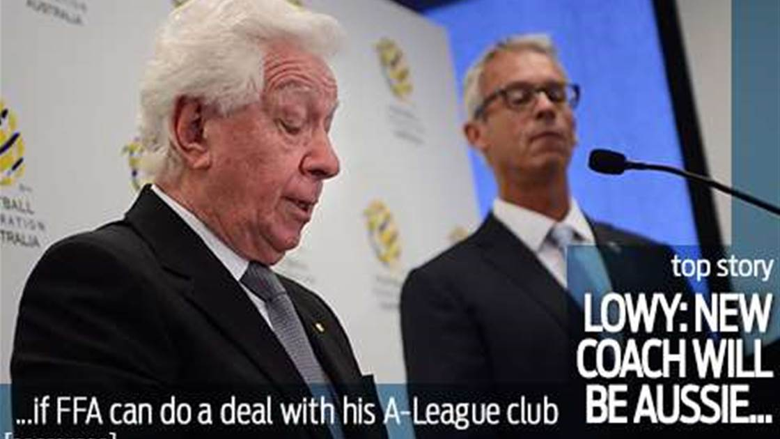 Lowy: Next Roos coach will be Aussie