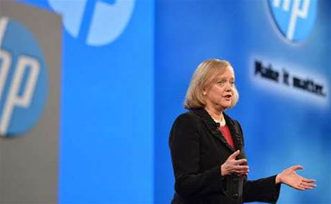 CEO Whitman: HP puts partners first in new style of IT