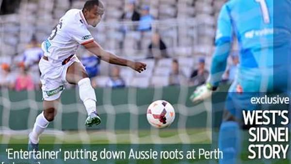 Entertainer Sidnei puts down Aussie roots
