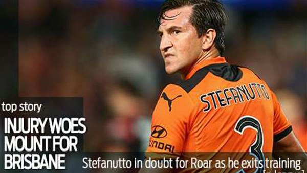 More injury woes for Brisbane Roar