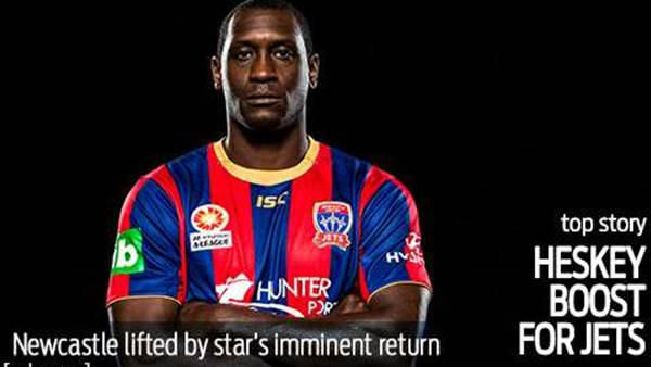Heskey return to boost Jets