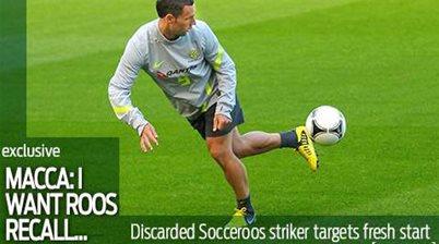McDonald: I want a Socceroo recall