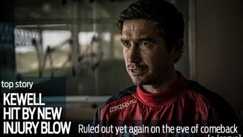 Kewell hits another injury setback