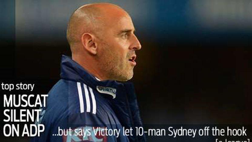 Melbourne Victory in ref tweet drama