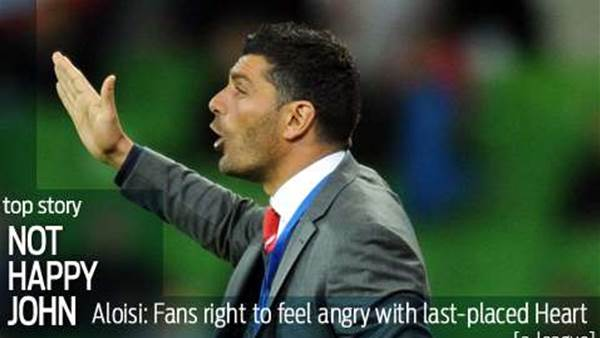 Aloisi: Heart fans right to feel angry