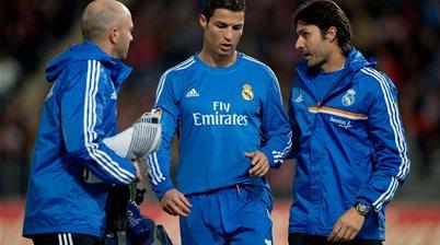 Ronaldo ruled out of Sociedad clash
