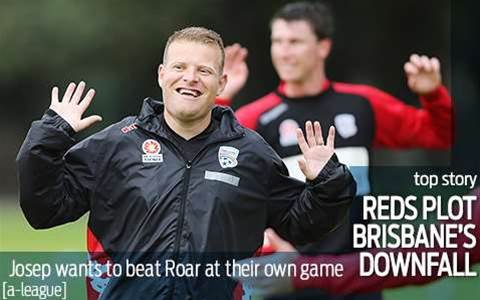 Reds plot Roar's downfall