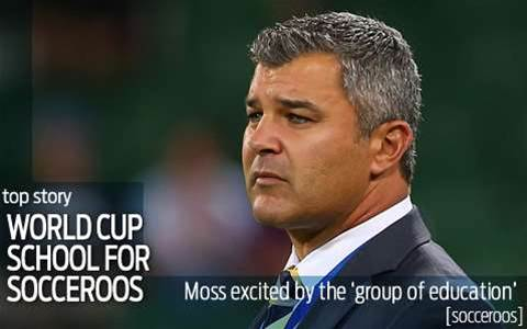 Moss hails Socceroos' group of education