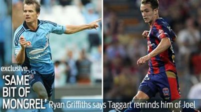 Ryan Griffiths: Taggart reminds me of Joel