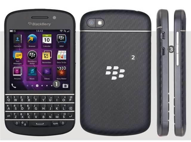 BlackBerry Q10 reviewed: fantastic keyboard, but we prefer the Z10