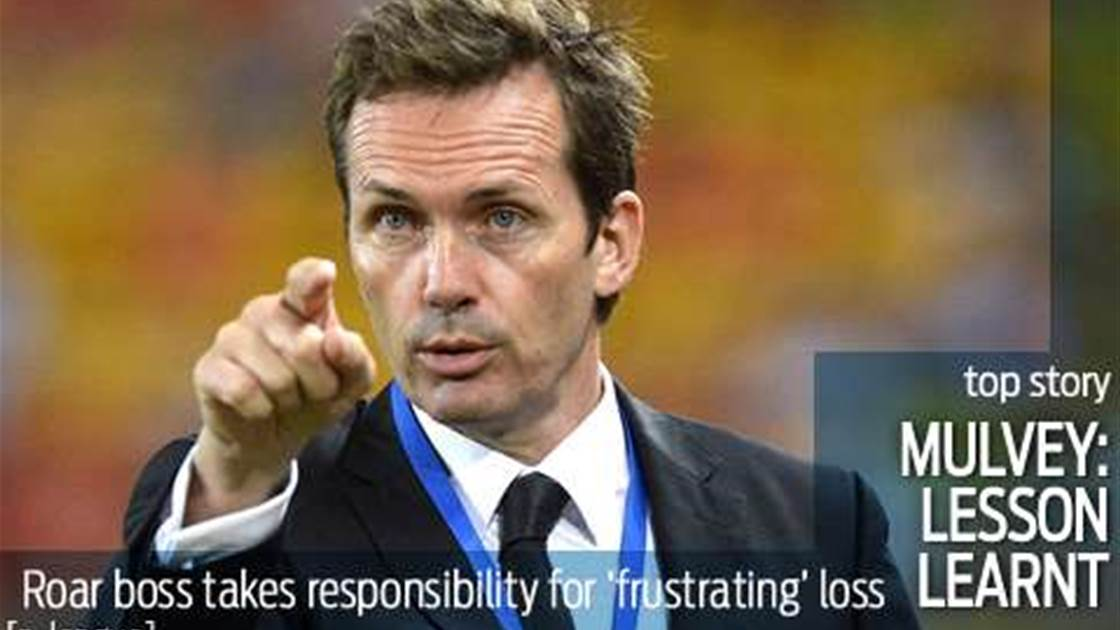 Mulvey: Loss to Jets a wake-up call