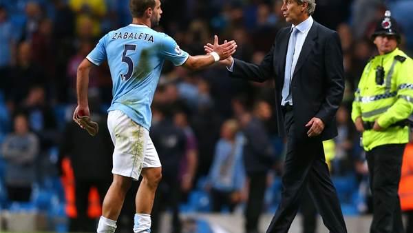 Pellegrini optimistic on Zabaleta return