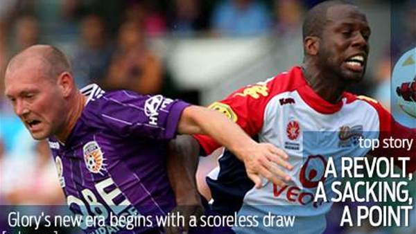 No goals, no glory as Perth draw with Reds