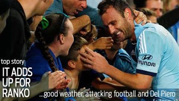Why Sydney FC's Ranko loves feeling blue