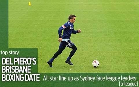 Del Piero to face Berisha-less Brisbane